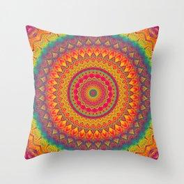 Mandala 507 Throw Pillow
