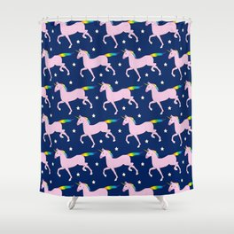 Unicorn Pattern Shower Curtain