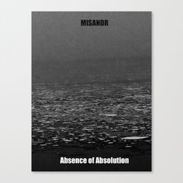 Absence of Absolution Canvas Print