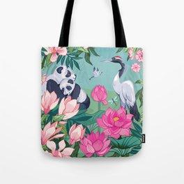 Under the Magnolia Blossom Tote Bag