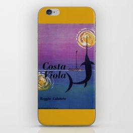Costa Viola Reggio Calabria iPhone Skin