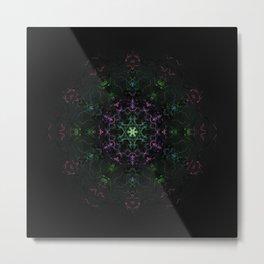 Gaia Mandala Metal Print