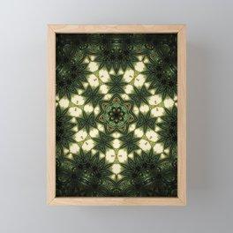 Forest Temple Framed Mini Art Print