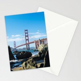 Golden Gate Bridge from Baker Beach Stationery Cards