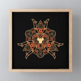 Yojimbo fayth Framed Mini Art Print