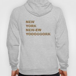 New York, New York Glitter Hoody