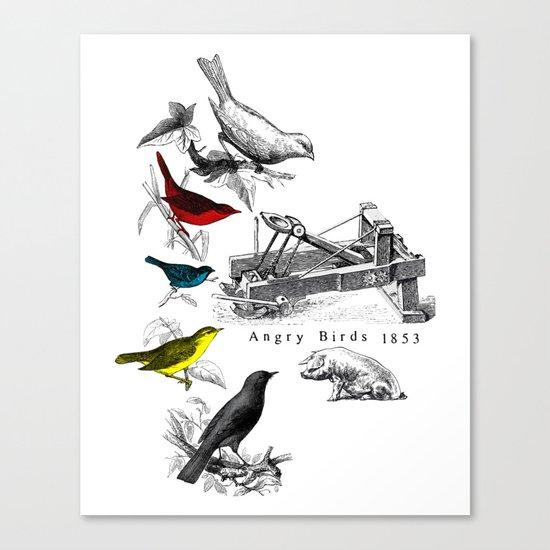 Etude - Angry Birds Canvas Print
