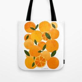mediterranean oranges still life  Tote Bag