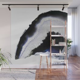 Blue syrup Agate Wall Mural