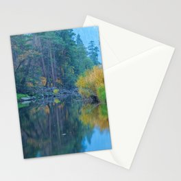 Autumn Dawn at Merced River Stationery Cards