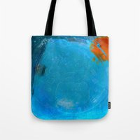 earth Tote Bags featuring Earth by Fernando Vieira