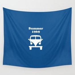 Summer 1969 - blue Wall Tapestry
