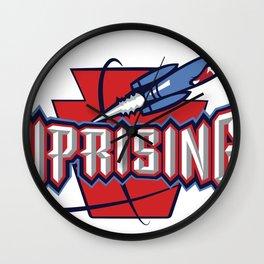 Uprising Rockets Wall Clock