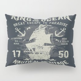 King of the Ocean Pillow Sham