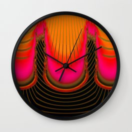 Darkness and light are sisters ... Wall Clock