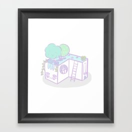 Casita I Framed Art Print