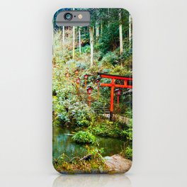 Nanzoin Temple, Fukuoka  iPhone Case