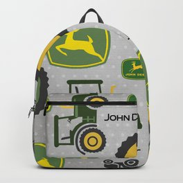 Farm Tractor - Green Backpack