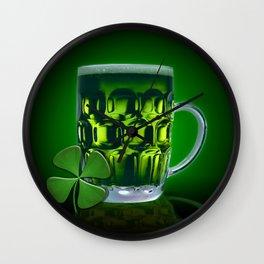 Pint Of Lucky. Wall Clock