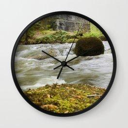 Woodland River Wall Clock