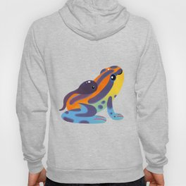 Poison dart frogs - bright Hoody