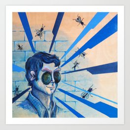 Fly on the Wall: Complete Art Print