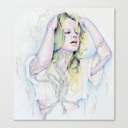 Strangled Canvas Print