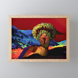 From the Depths of Hell IT Came Framed Mini Art Print
