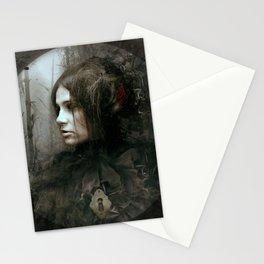 Face of Melinda Stationery Cards