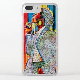 Zoe Saldana Clear iPhone Case
