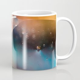 Oil and Water Abstract Background Coffee Mug