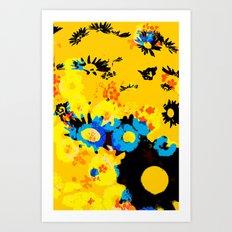 floral 001. Art Print