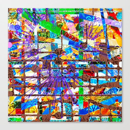 Frank (Goldberg Variations #10) Canvas Print