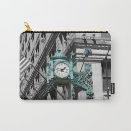 Chicago Marshall Field's Clock Photo Carry-All Pouch