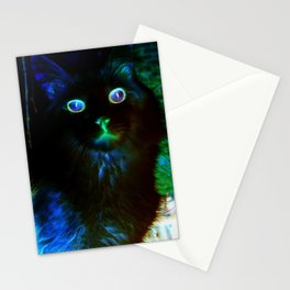 Spooky Cat Stationery Cards