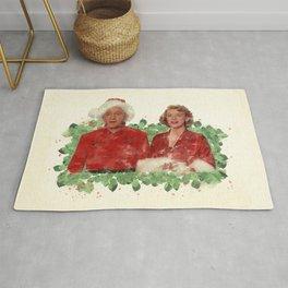 Bob & Betty (White Christmas) Rug
