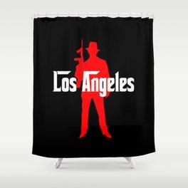 Los Angeles mafia Shower Curtain