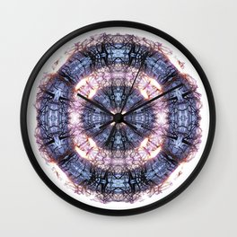 286 - Abstract tree branch sphere Wall Clock