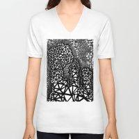 big bang V-neck T-shirts featuring Big Bang by Cori Hills