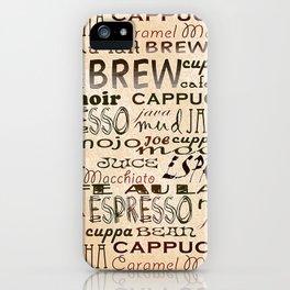 Coffee and Cream iPhone Case