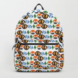 Crypto Pattern Backpack
