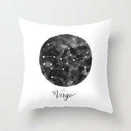 Virgo Constellation Throw Pillow