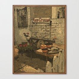 Jumble Shop DPPA150504f Canvas Print