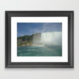 Rainbows of Niagara Falls Framed Art Print