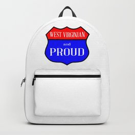 West Virginian And Proud Backpack