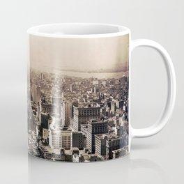 New York, South from Metropolitan Tower 1912 Coffee Mug