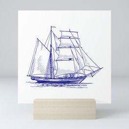 Sailing Ships Mini Art Print