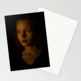 Amber Portrait Stationery Cards