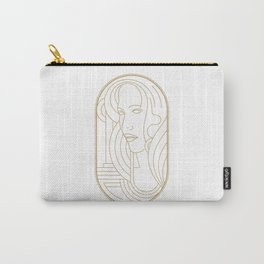 Girl Art Deco 04 Carry-All Pouch