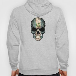 Dark Skull with Flag of Guatemala Hoody